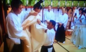 衣紋講習で衣紋司を勤められる管長台下と山縣神事部長