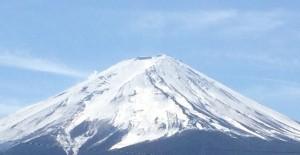富士吉田からの富士山