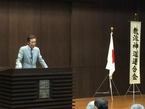 俳優 西岡徳馬さんの講義