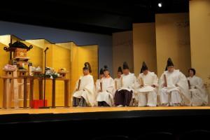 管長台下はじめ関西教区の教導職の先生がたが祭員を勤めました