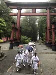 北口本宮浅間大社へ参詣